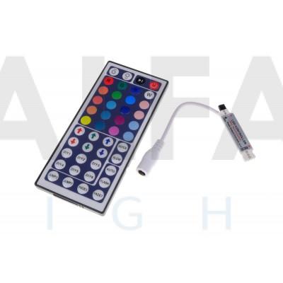 Riadiaci systém 44tl ECONOMY RGB  IR mini