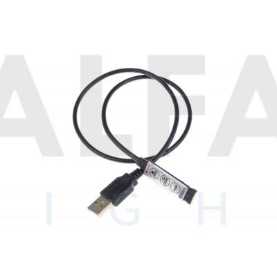 Riadiaci systém USB 5V 3tl ECONOMY RGB