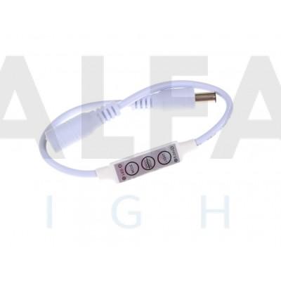 Manuálny ovládač 3tl DC  ECONOMY pre Jednofarebné osvetlenie