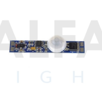 Mini PIR senzor do AL profilu 12-24V BASIC