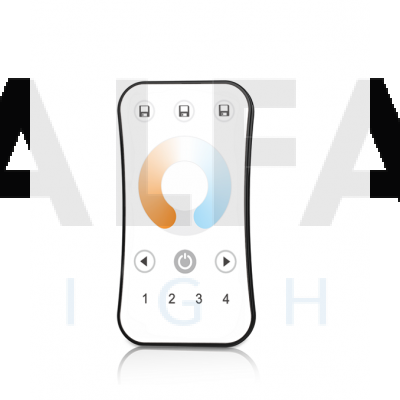 Diaľkový 4 zónový Dual White ovládač ATTRACTIVE – White