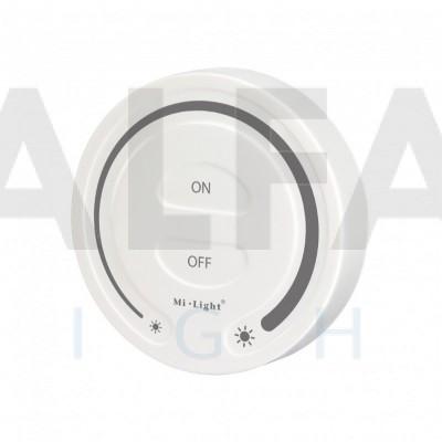 Bezdrôtový okrúhly nástenný 1 zónový stmievač CLEVER