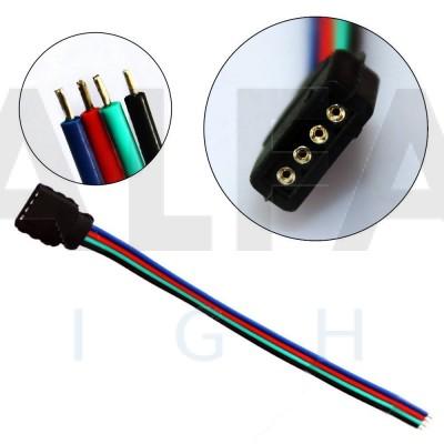 Konektor F pre RGB LED pásy