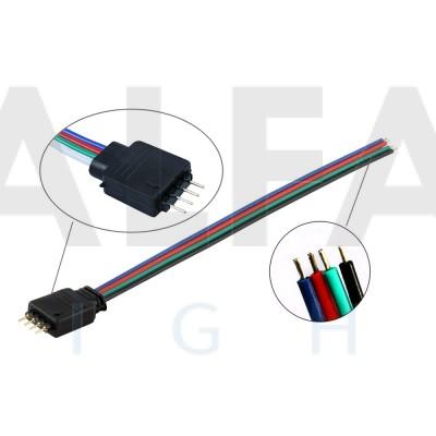Konektor M pre RGB LED pásy