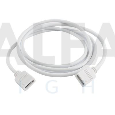 Predlžovací kábel pre RGB LED pásy - 1m