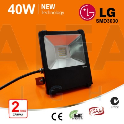 40W SMD LG LED reflektor - Premium series