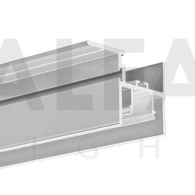 Hliníkový profil FOLED-SUF pre napínané stropy