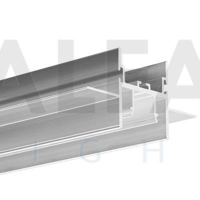 Hliníkový profil FOLED pre napínané stropy