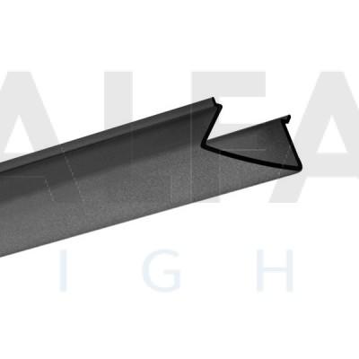 Difúzor FOLED BLACK s priepustnosťou svetla 50%