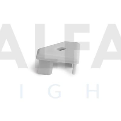 Záslepka GLAD-45-OTW sivá