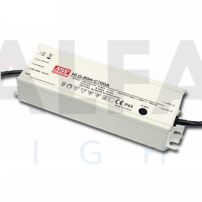 Napájací zdroj pre LED 80W/24V - vode odolný séria HLG