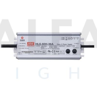 Napájací zdroj pre LED 60W/24V - vode odolný séria HLG