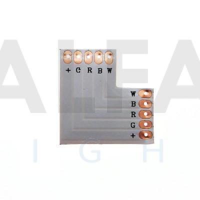 L konektor spájkovací pre RGBW LED pásy