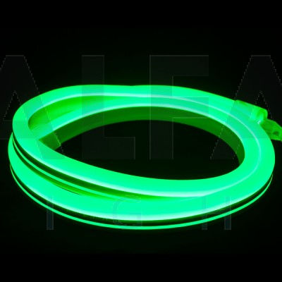 LED NEON FLEX - Zelená (Interiér / Exteriér)