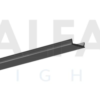 Difúzor LIGER BLACK s priepustnosťou svetla 50%