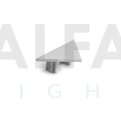 Záslepka PAC-ALU sivá