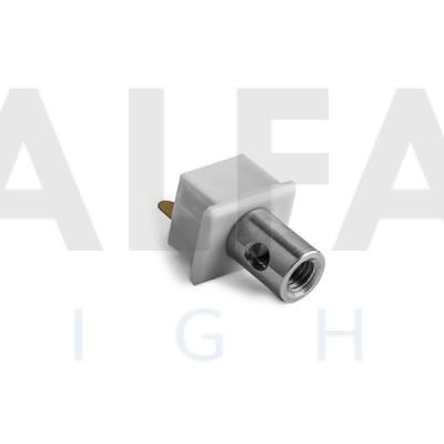 Záslepka PDS-4-ALU (elektrický vodivá) sivá