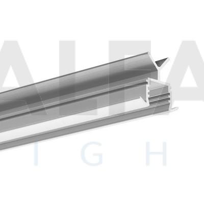 Hliníkový profil POR (pre kovové zábradlia)