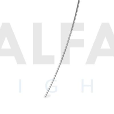 Nerezová tyč s Ø 3mm 53cm – zahnutá