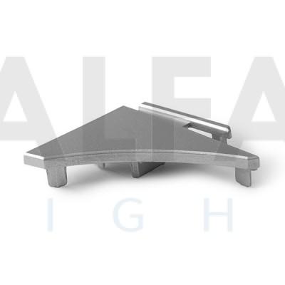 Záslepka PULA-P (pravá) metalická