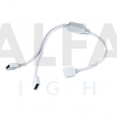 Rozdvojka pre RGB LED pásy - 30cm