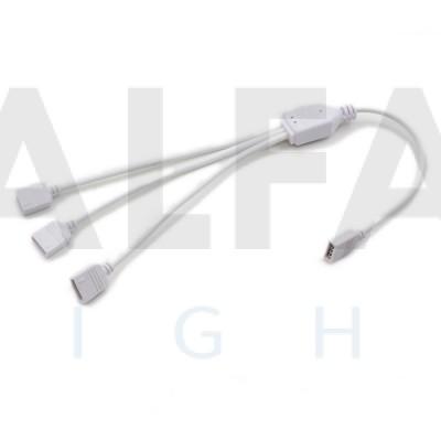 Roztrojka pre RGB LED pásy - 30cm