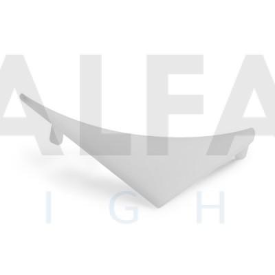 Záslepka TELIT-L-P (pravá) biela