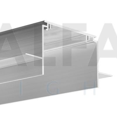 Hliníkový profil TESE pre 12mm SDK