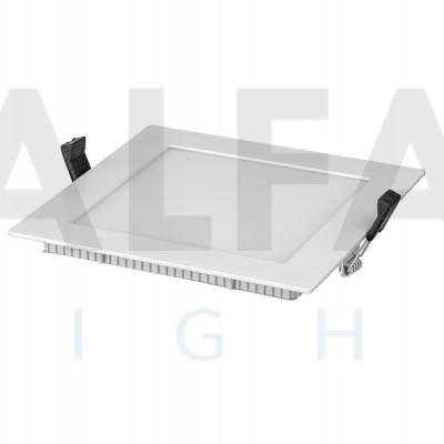 8W stmievateľné LED svietidlo štvorec - Professional series