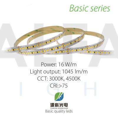 LED pás BASIC series 16W/24V, 196 LED/m 2835
