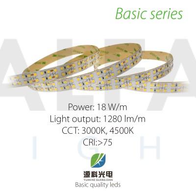 LED pás BASIC series 18W/12V, 240 LED/m 2835